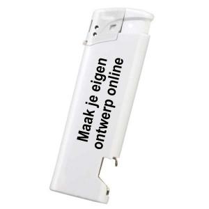 Aansteker elektronisch met opener - Dubbelzijdig