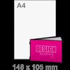 A6 Liggend Brochure drukken