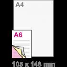 A6 Doordruksets - Los 3voudig