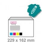 C5 Envelop maken - venster links