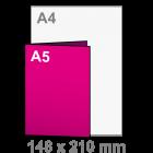 Folder A4 naar A5