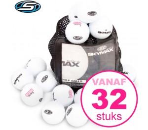 Golfballen bedrukken - Skymax Titanium - 32 stuks