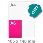 A6 Kaart maken