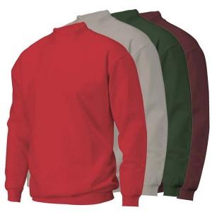 Sweater bedrukken: Voorkant op de borst