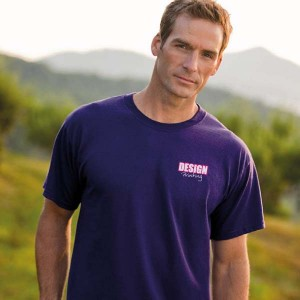 T-shirt bedrukken: Voorkant op de borst
