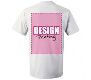 T-shirt bedrukken: Achterkant