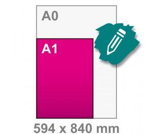 A1 Poster maken - staand