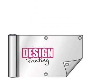 Zeildoek 200x50 cm - inclusief ringen