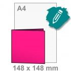 Uitnodiging maken - vierkant 148x148 mm