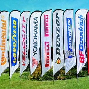 Beachflag medium 75x260 cm