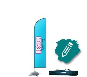 Beachflag small 60x195 cm